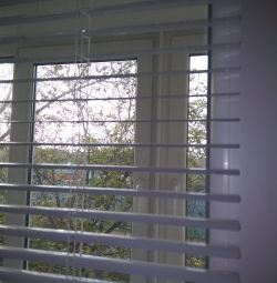 Metal-plastic windows