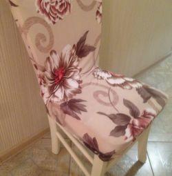 Streç sandalye örtüsü