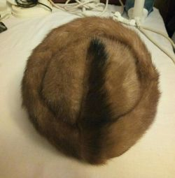 Hat for a fur coat