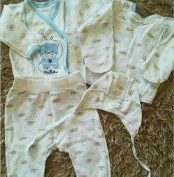 Σετ για το νεογέννητο μωρό