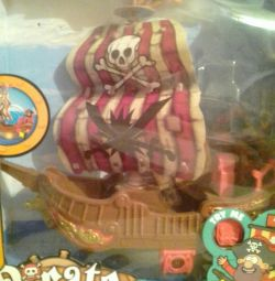 Toy Pirate ship new