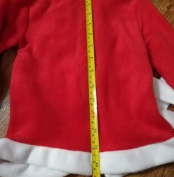 Santa suit New Year's children's new