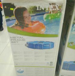 Каркасний басейн 366 76 фільтр