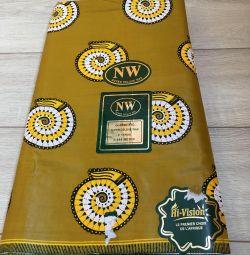 African fabric 112x550