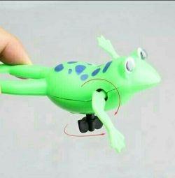 Clockwork frog