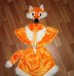 Christmas fox costume 4-5 years old