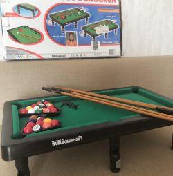 Game table billiards