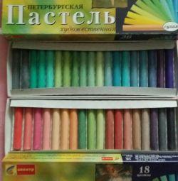 Pastel art 36 colors (dry)