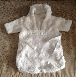 Plic din blană de iepure pentru nou-născut