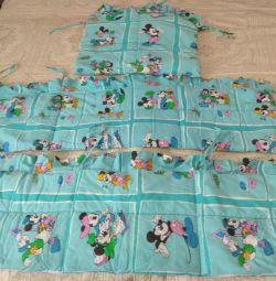 Bara de protecție în pat pentru copii