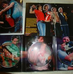 Dvd compilation rolling stones four flicks - new