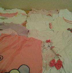 Tricouri pentru fete, preț pentru 1 buc.