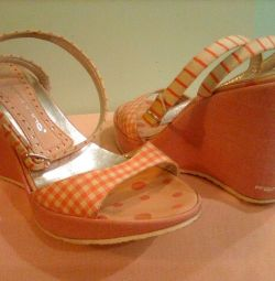 Sandals Fornarina, river 37.5