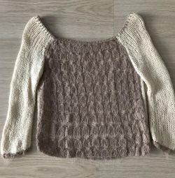 Pulover tricotat dimensiunea 46-48