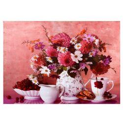 KAMVAS TABLE HM7071 FLOWERS 50X70X2.5
