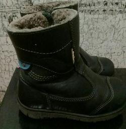 Χειμερινές φυσικές μπότες