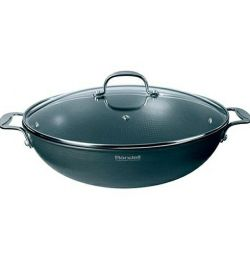 Wok with / cr 32 cm 4.6 l Rondell