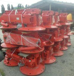 Z107 traktöre ait döner biçme makinesi