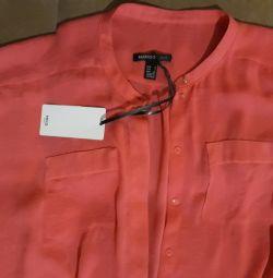 Nou bluză de mango, coral.