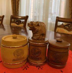 Barrels for honey
