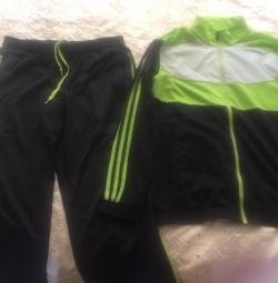 Sports suit and long sleeve adidas original