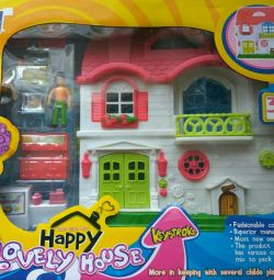 Happy lovely house