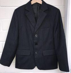 School suit for a boy 1-2 cells