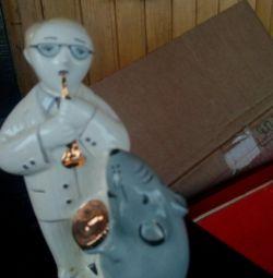 Figurină din porțelan.