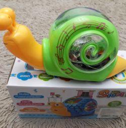 Musical snail.
