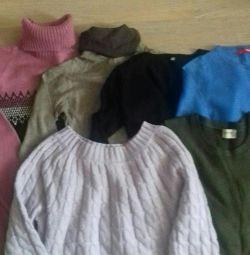6 bluze cu un pachet pentru 300 de ruble