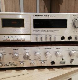 Dispozitiv de înregistrare pe bandă Yauza 220