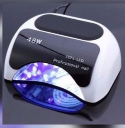 48 Watt UV / LED lamps for manicure
