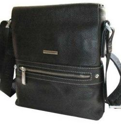 New leather bag for men Bruno Perri (Italy)