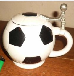 Soccer Ball Sugar Bowl