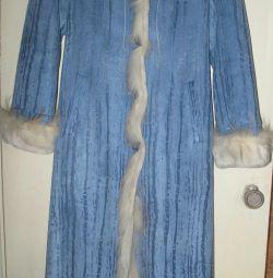 Sheepskin coat Chic. New