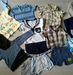 Вещи, одежда пакетом