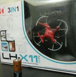 Quadcopter στο ραδιόφωνο