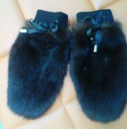 Mink mănuși