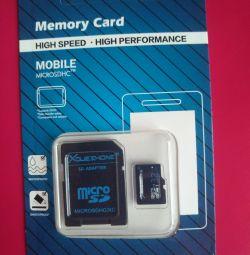 Κάρτα μνήμης 32 GB + προσαρμογέας