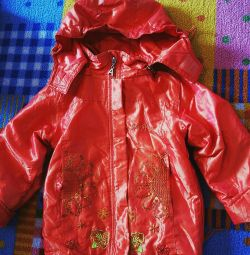 Jacket with fine sintepon