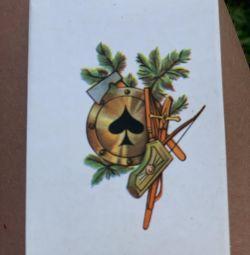 Карты игральные сувенирные СССР