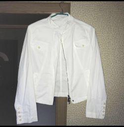 New summer white jacket