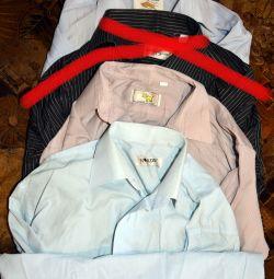 Men's classic shirts, long sleeve