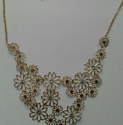 Ожерелье Цветы