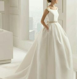 Свадебное платье атласное Samara Rosa Clara