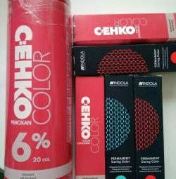 Dye, oxidant pentru păr Cehko, Indola Germania