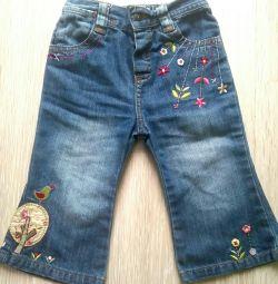 Jeans Mama's & TAPA, 6-9 μήνες.
