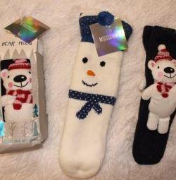 Шкарпетки тапки 35-38р