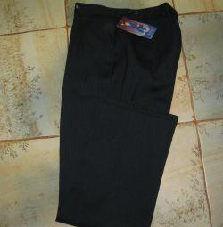 Pantaloni de școală noi pentru creștere 164