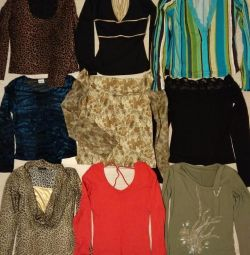 Sweaters, blouses 42-48